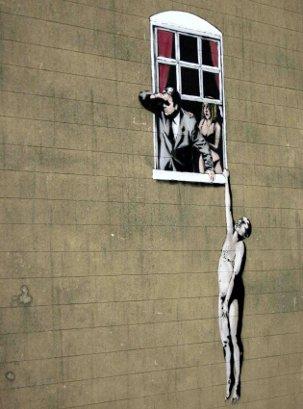 A Banksy in Bristol